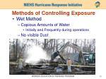 methods of controlling exposure1