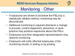 monitoring other