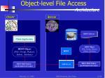 object level file access architecture