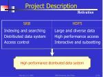 project description motivation
