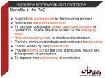 legislative framework and mandate2