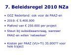 7 beleidsregel 2010 nza