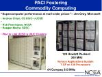paci fostering commodity computing