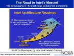 the road to intel s merced the convergence of scientific and commercial computing
