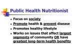 public health nutritionist2
