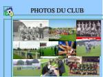 photos du club