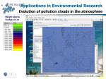 applications in environmental research