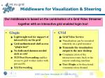 middleware for visualization steering