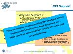 mpi support