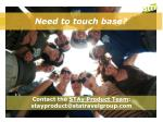 contact the stay product team stayproduct@statravelgroup com