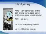his journey