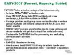 easy 2007 forrest kopecky sublet