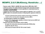 mcnpx 2 6 0 mckinney hendricks