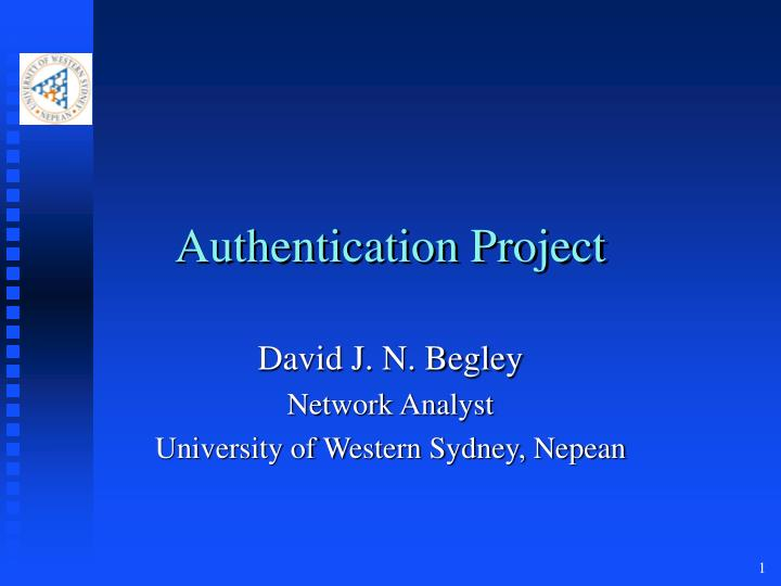 authentication project n.