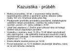 kazuistika pr b h