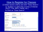 how to register for classes2