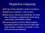 eksplicitna integracija1