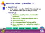 knowledge review question 104