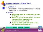 knowledge review question 110