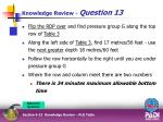 knowledge review question 135