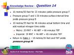 knowledge review question 144