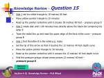 knowledge review question 158