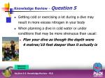 knowledge review question 55