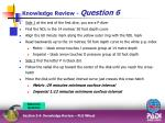 knowledge review question 610