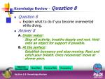 knowledge review question 81