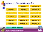 section 2 knowledge review