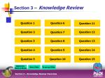 section 3 knowledge review