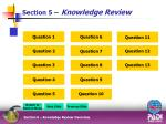 section 5 knowledge review
