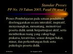 standar proses pp no 19 tahun 2005 pasal 19 ayat 1