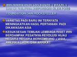 irri didirikan di los banos brazil dan di fhilipina disponsori oleh ford foundation dan rockefeller