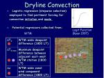 dryline convection