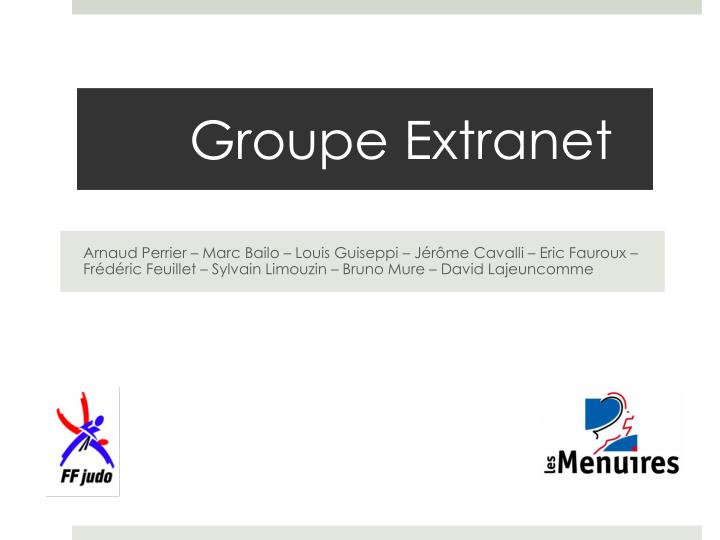 groupe extranet n.