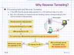 why reverse tunneling