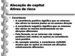 aloca o de capital ativos de risco3