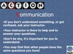 c ommunication