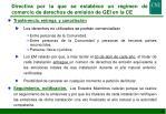 directiva por la que se establece un r gimen de comercio de derechos de emisi n de gei en la ce3