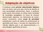 adapta o de objetivos1