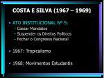 costa e silva 1967 19691
