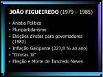 jo o figueiredo 1979 19851