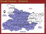 drought declared 28 districts1