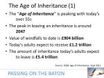 the age of inheritance 1