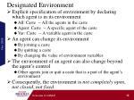 designated environment