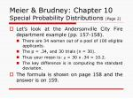 meier brudney chapter 10 special probability distributions page 2