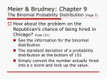meier brudney chapter 9 the binomial probability distribution page 7