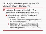strategic marketing for nonprofit organizations chapter 51