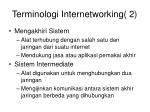 terminologi internetworking 2